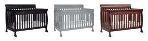 DaVinci Kalani Crib Reviews: DaVinci Kalani 4in1 convertible crib in ebony black, espresso and gray