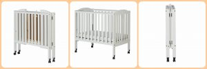Different types of baby cribs - mini, portable, folding crib