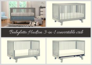 Best Convertible Cribs of 2018 - Best Rated Baby Cribs of 2018: Babyletto Hudson