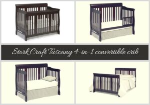 Best Convertible Cribs of 2018: Best Rated Baby Cribs of 2018 Stork Craft Tuscany