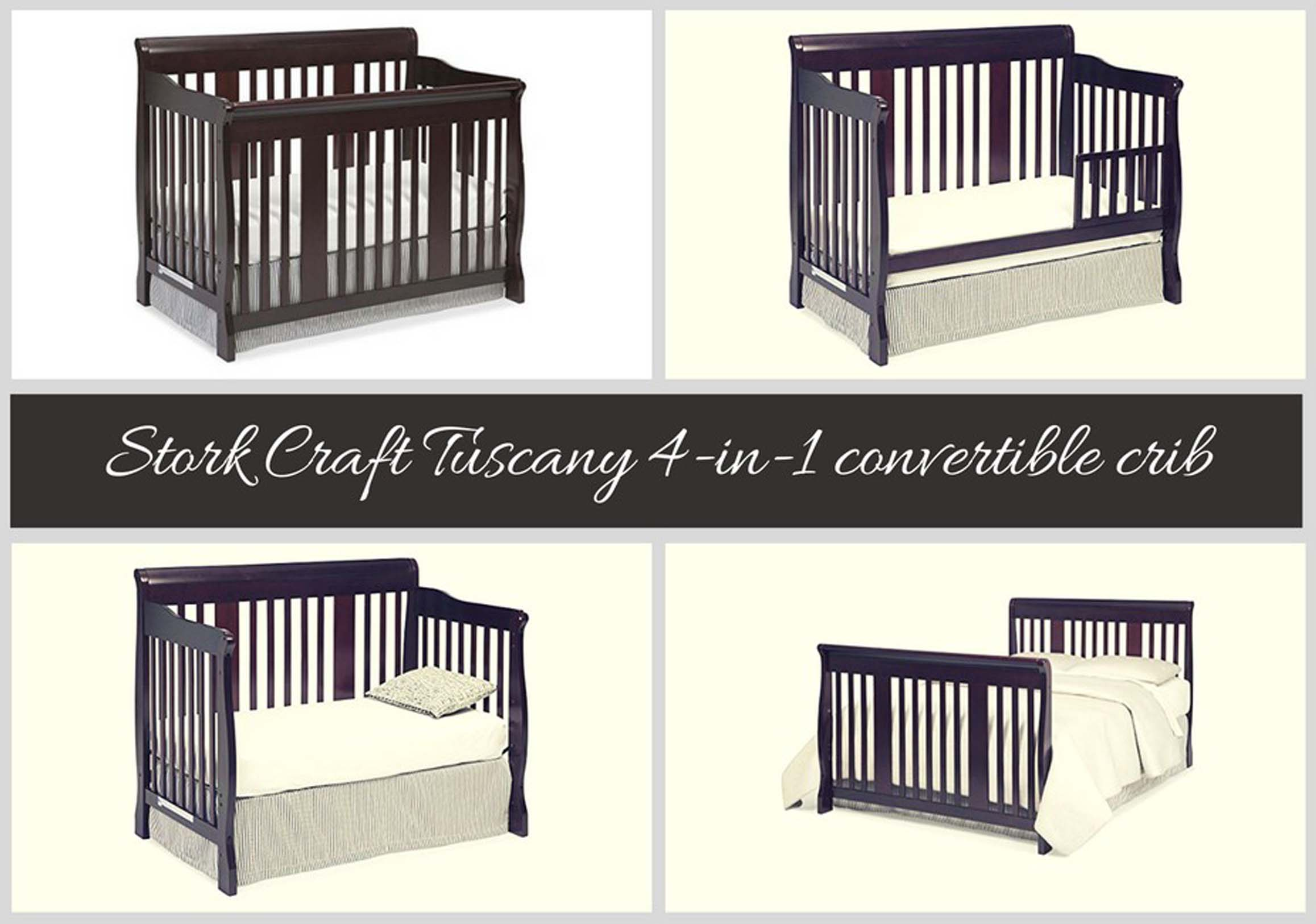 Best Convertible Cribs Of 2018 Rated Baby Stork Craft Tuscany