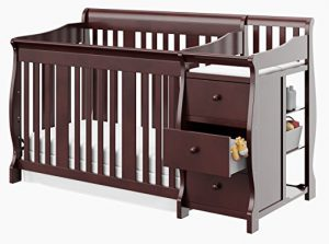 Different types of baby cribs - convertible combo crib