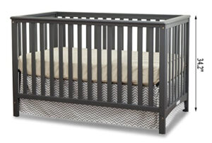 Best Cribs For Short Moms - Stork Craft Hillcrest Fixed Side Convertible Crib