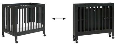 Best Mini Cribs For Small Spaces - Babyletto Origami Mini Folding Crib