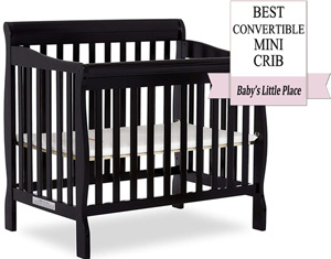 Best convertible mini crib: Dream On Me Aden