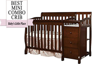 Best combo mini crib: Dream On Me Jayden