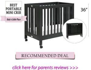 Best mini crib for short moms