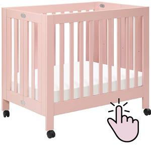 Best mini portable crib: Babyletto Origami
