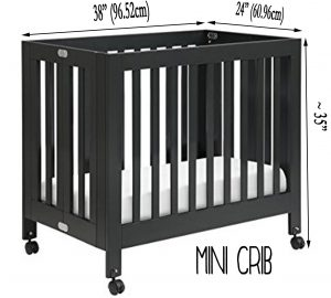 Best Cribs For Short Moms/petite moms - mini crib dimensions