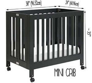 Best Cribs For Short Moms - mini crib dimensions