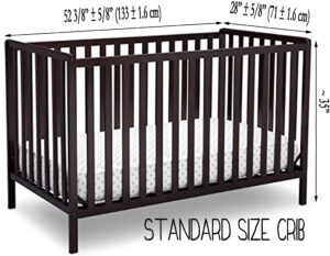 Best Cribs For Short Moms/petite moms - standard crib dimensions