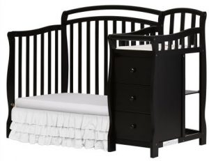 Mini Crib With Changer: Dream On Me Casco 3 In 1 Mini Crib With Changing Table Review_daybed