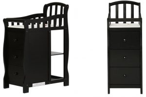 Mini Crib With Changer: Dream On Me Casco 3 In 1 Mini Crib With Changing Table Review_changer
