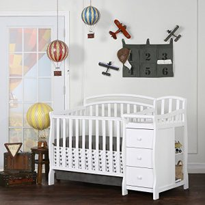 Mini crib with changing table - Dream On Me Casco 3-in-1 convertible crib with changing table
