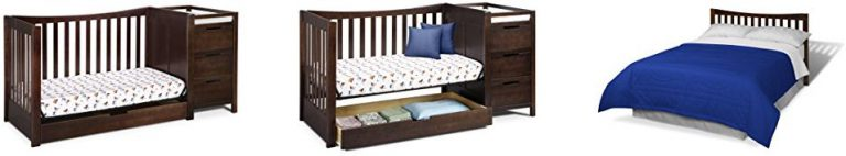 Best Combo Crib with Changer: Graco Remi 4-in-1 Convertible Crib with Changing table