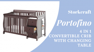 Best Combo Crib with Changer: Stork Craft Portofino 4-in-1 convertible crib with changing table