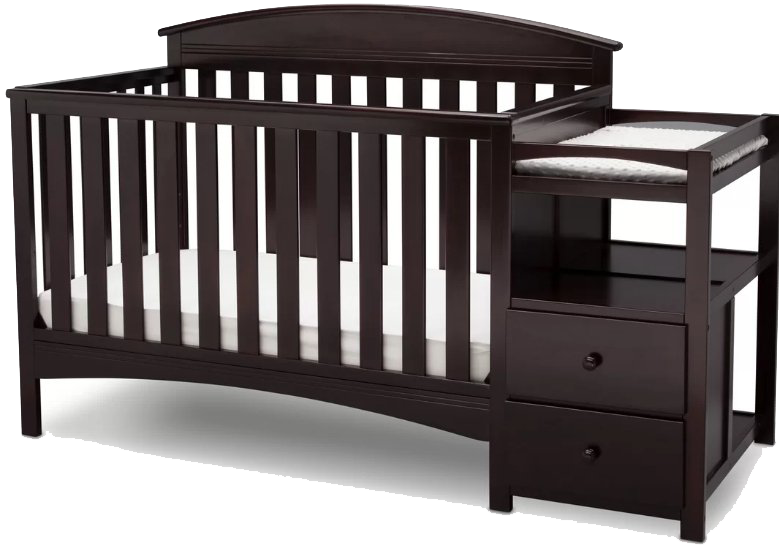 white crib in with sorelle grey changer drawer elite princeton dresser cribs tuscany double espresso and convertible