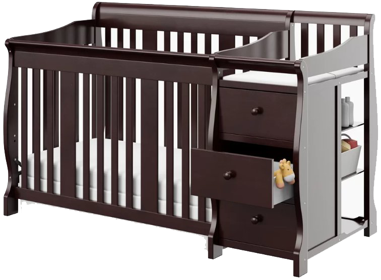 What Is A Convertible Baby Crib With Changing Table Stork