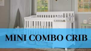 mini crib with changing table