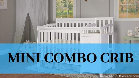 What is mini convertible crib with changing table?