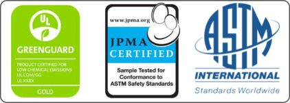 Baby Cribs Safety Standards_GREENGUARD, JPMA & ASTM certification