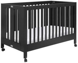 Portable full size cribs on wheels - Babyletto Maki