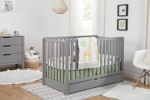 Best Cribs with Storage - Carter's by DaVinci Colby convertible crib with drawer underneath