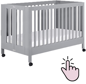 Best full-size portable folding crib