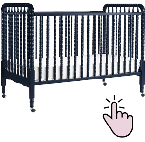 Best full-size portable crib on wheels