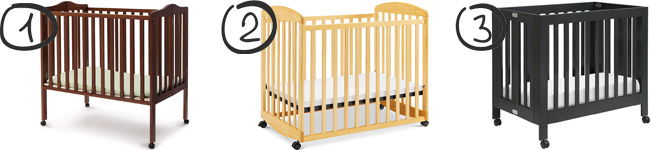 Best mini portable cribs on wheels