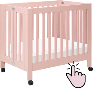Best Cribs On Wheels In 2020 Wooden Full Size Mini Cribs