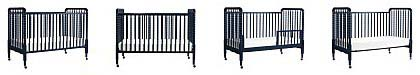 Portable full size cribs on wheels - DaVinci Jenny Lind