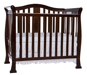 What is a convertible baby crib? Dream On Me Addison 4 in 1 convertible crib