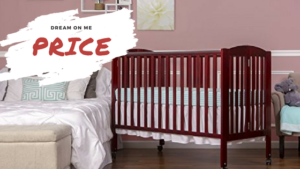 Best Full Size Portable Folding Baby Cribs On Wheels - Dream On Me