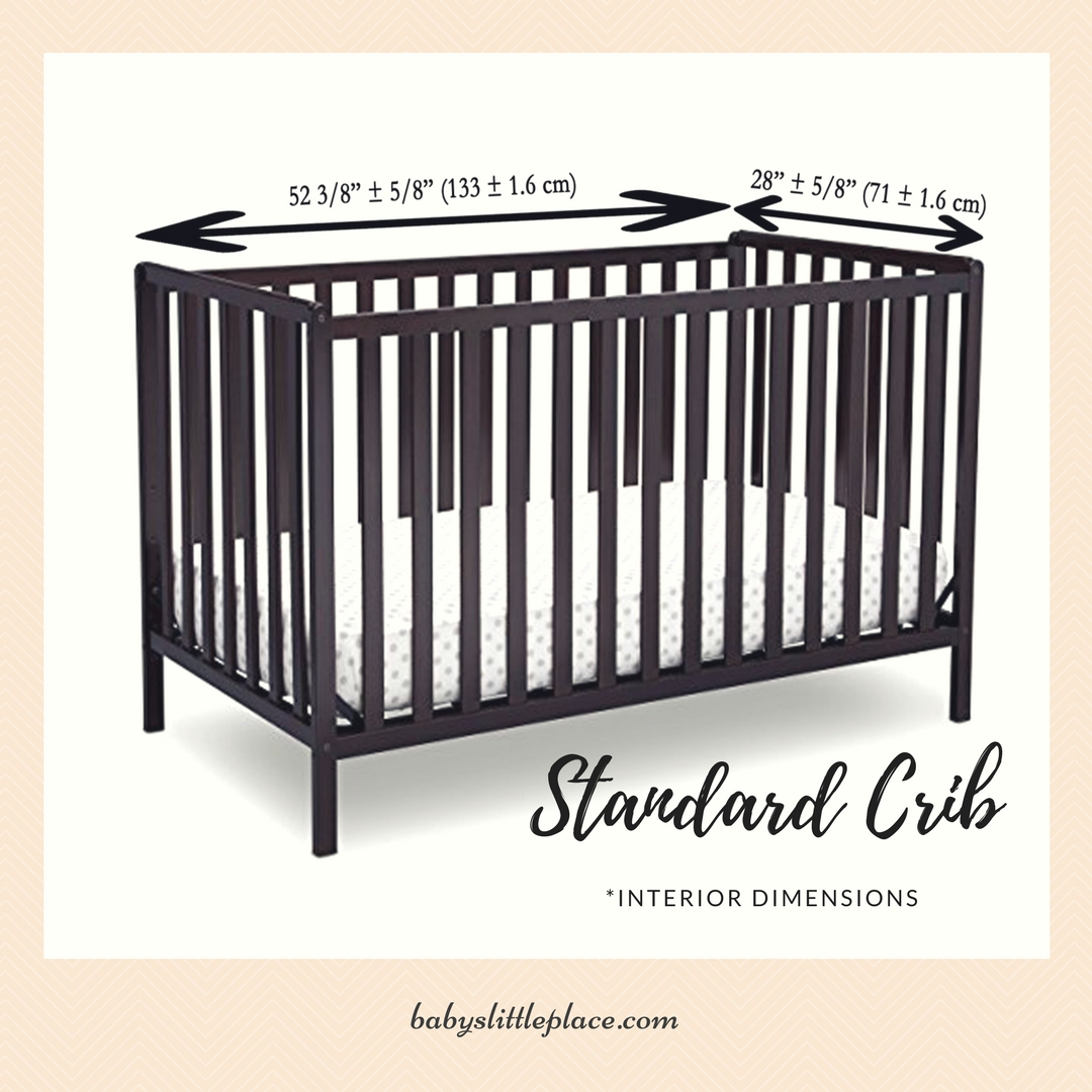 Standard Size Baby Crib Measurements And Facts Baby S