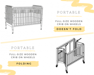 Best Portable Full Size Crib vs Best Full-Size Portable Folding Baby Cribs