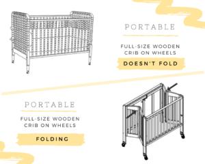 Best Portable Full Size Crib vsBest Full-Size Portable Folding Baby Cribs