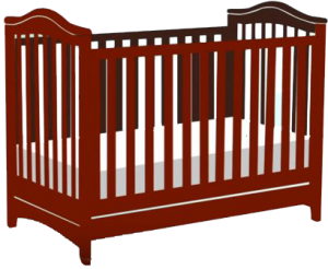 Standard size baby crib | traditional baby crib