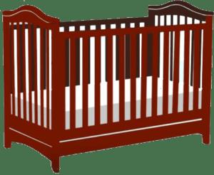 Standard size baby crib   traditional baby crib