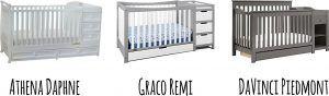 Best 3 Combo Cribs with Under Crib Storage Drawer