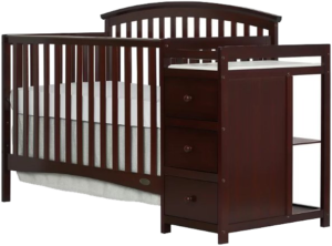 Best Combo Crib with Changer Dream On Me Niko 5-in-1 convertible crib with changing table