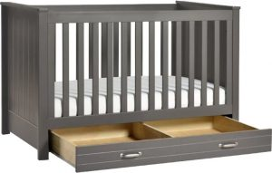 Best Cribs with Storage - DaVinci Asher convertible crib with drawer underneath