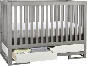 Best Cribs with Storage - Oslo crib by Karla Dubois convertible crib with drawer underneath