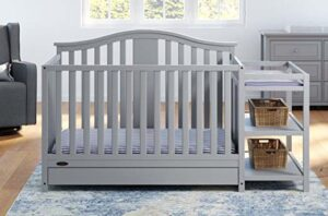 Best Combo Cribs with Under Crib Storage Drawer_Graco Solano