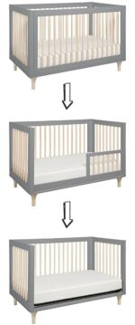 The best baby cribs of 2018 - best baby crib for short moms: Babyletto Lolly 3-in-1 convertible crib
