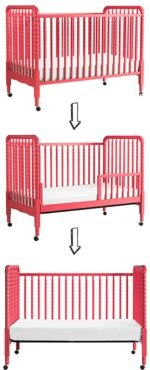 The best baby cribs of 2018 - best baby cribs to buy: DaVinci Jenny Lind 3-in-1 convertible & portable crib
