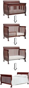 The best baby cribs of 2018 - best baby cribs to buy: DaVinci Kalani 4-in-1 convertible crib