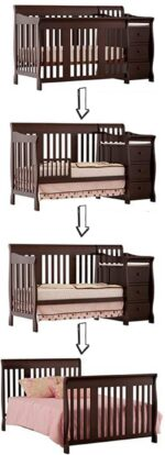The best baby cribs of 2018 - best baby cribs to buy: Storkcraft Portofino crib and changer