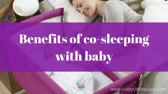 Benefits of co-sleeping with baby
