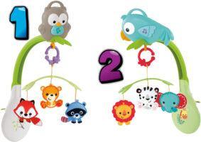 Fisher-Price musical crib mobile: Owl baby crib mobile